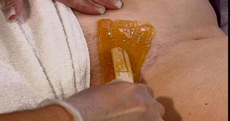 Brazilian waxing vagina